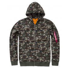 Alpha Industries X-Fit Zip Hoody - wood camo65