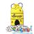 Piatnik Méhkaptár - Honeycombs – Készségfejlesztő játék
