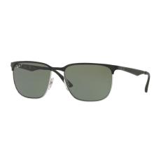 Ray-Ban RB3569 90049A SILVER TOP SHINY BLACK DARK GREEN POLAR napszemüveg