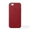 Apple iPhone 5/5S/SE gyári bőr hátlap tok, (PRODUCT)RED, MR622