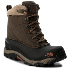 The North Face Hótaposó THE NORTH FACE - Chilkat III T939V6YVA Mudpack Brown/Bombay Orange