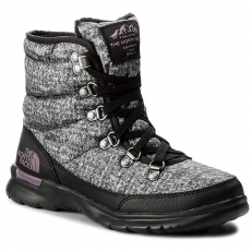 The North Face Hótaposó THE NORTH FACE - Thermoball Lace II T92T5LYSR Burnished Houndstooth Print/Black Plum