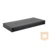 Excel-Networking Optikai patch panel 1U MM LC duplex 24 port, 8 LC duplex toldóval töltve (200-462) EXCEL