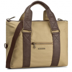 Fly London Táska FLY LONDON - Canvas P974586001 Mustard/Brown
