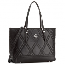 Tommy Hilfiger Táska TOMMY HILFIGER - Honey Med Tote Quilted AW0AW04347 002