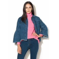Vero Moda , Melina Farmerkabát, Sötétkék, M (10189006-MEDIUM-BLUE-DENIM-M)