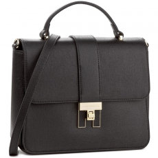 Tommy Hilfiger Táska TOMMY HILFIGER - Th Heritage Top Handle Satchel AW0AW04301 002