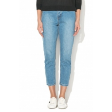 Only , Kelly Mom Farmernadrág, Kék, W27-L34 (15143714-MEDIUM-BLUE-DENIM-W27-L34)