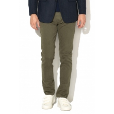 Zee Lane Denim , Chino Nadrág, Katonai zöld, 36 (ZLD18F-3029-GREEN-MILITARY-36)