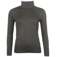 Full Circle Roll Neck női pulóver sötétszürke S