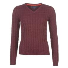 Kangol CableVnk női kötött pulóver bordó XS