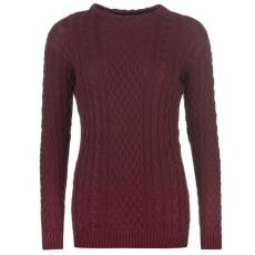 Kangol High Nk   női kötött pulóver bordó S