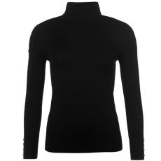 Full Circle Roll Neck női pulóver fekete XL