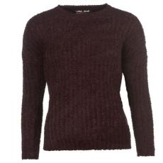 Lee Cooper Női kerek nyakú kötött pulóver bordó L