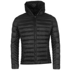 SoulCal Micro Bubble férfi kapucnis kabát fekete L