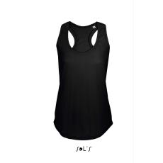 Sol\\\'s Sols Moka női trikó, Deep Black (Sols női trikó, ívelt aljjal.)