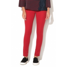 FRENCH CONNECTION , Street Skinny Nadrág, Piros, 12 (74IBO-CRANBERRY-CRUNCH-12)