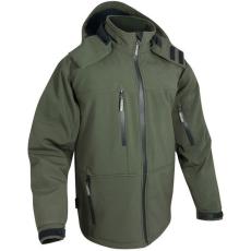 Jack Pyke JJKTSS Soft Shell Jacket vízálló, lélegző Vadász Dzseki - Hunters Green/Zöld