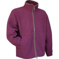 Jack Pyke JJKTFLCOUN Countryman Fleece Jacket Vadász Dzseki - Burgundy/Burgundi vörös