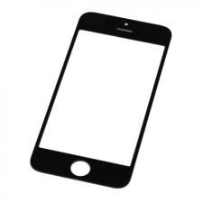 iPhone 5 előlapi üveg (alkatrész, nem védőüveg) fekete mobiltelefon előlap