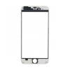 iPhone 6 előlapi üveg kerettel (alkatrész, nem védőüveg) fehér