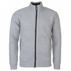 Pierre Cardin cipzáras kötött pulóver férfi