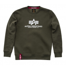 Alpha Indsutries Basic Sweater - dark green