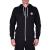 Converse Sweat Shirts férfi kapucnis cipzáras pulóver fekete L