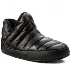The North Face Zártpapucs THE NORTH FACE - Thermoball Traction Bootie T93MKHYXA Shiny Tnf Black/Dark Shadow Grey