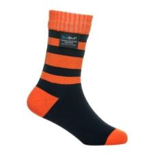 DexShell Gyerek zokni - Narancs / Fekete - M