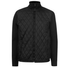 Pierre Cardin férfi dzseki - fekete - Pierre Cardin Padded Knit Jacket Mens