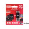 Goodram 32GB SD micro (SDHC Class 10 UHS-I) (M1A5-0320R11) All in 1 memória kártya + kártyaolvasó type C