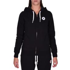 Converse W Core Full Zip Hoodie női cipzáras pulóver fekete S