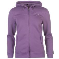 LA Gear női cipzáras kapucnis pulóver - LA Gear Full Zip Hoody - lila