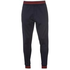 Pierre Cardin férfi melegítőnadrág - sötétkék/piros - Pierre Cardin Stripe Slim Fit Joggers Mens