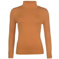 Full Circle Roll Neck női pulóver sárga L