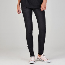 Rock and Rags női farmer - Rock and Rags Washed Womens Skinny Jeans - fekete