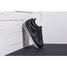 Nike Classic Cortez Leather Black/ Dark Grey-White