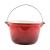 Perfect home Zománcozott öntöttvas bogrács 3 literes piros