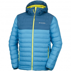 Columbia Powder Lite Hooded Jacket Utcai kabát,dzseki D (1693931-r_402-Compass Blue)
