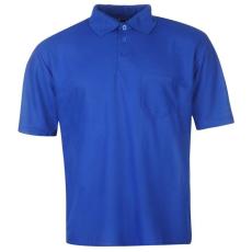 Donnay férfi galléros póló, Kék - Donnay Pocket Polo Shirt Mens