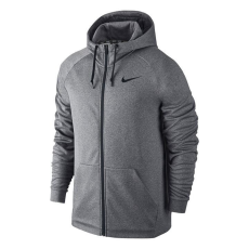 Nike Therm FZ férfi kapucnis cipzáras pulóver szürke S