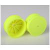 Associated Přední disky žluté pro 4WD (HEX 10 mm) - 2 ks