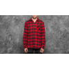 ADIDAS ORIGINALS adidas Stretch Flannel Shirt Scarlet/ Black