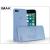IMAK Apple iPhone 7/iPhone 8 hátlap - IMAK 0.7 mm Color Slim - kék