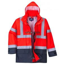 Portwest S768 5 az 1-ben vezetői dzseki (piros/tengerészkék)
