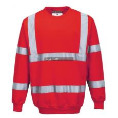 Portwest B303 Jól láthatósági pulóver (piros)