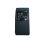 utángyártott Huawei Honor 8 Lite / P8 Lite 2017 / P9 Lite 2017 ablakos fekete flip-flop tok