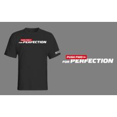 Scitec Nutrition Pushfwd Perfection póló - fekete