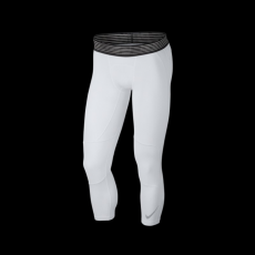 Nike Pro Dry 3/4 Basketball Tights White